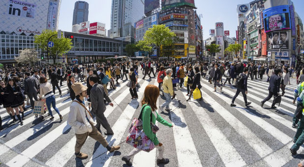 On Nov. 20-22, Franklin Graham will preach the gospel in Tokyo as BGEA partners with hundreds of local churches. It's estimated that less than 1% of Japanese people are Christian.