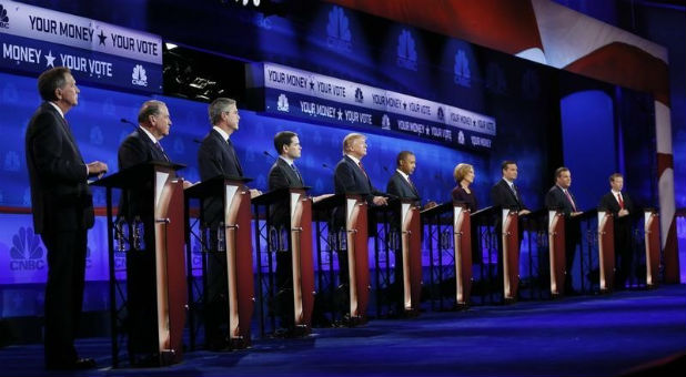 Republicans called out the media bias during the CBNC debate.