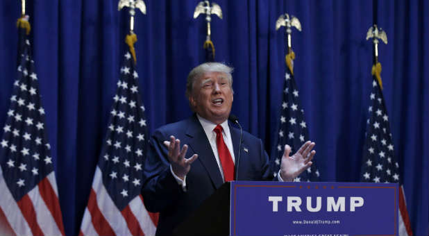Donald Trump has become the unlikely leader in the Republican primaries.
