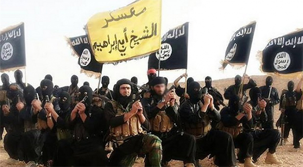 Public Domain Image of ISIS Army Fighters