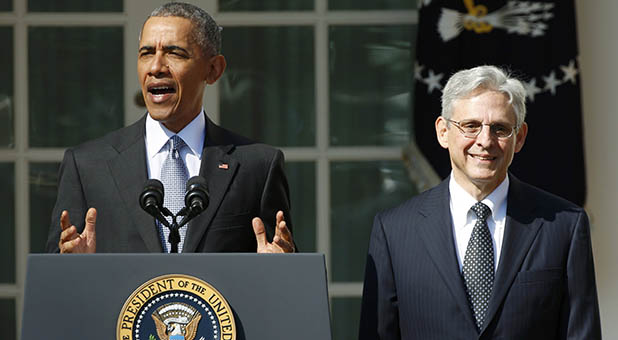 President Obama and Judge Merrick Garland