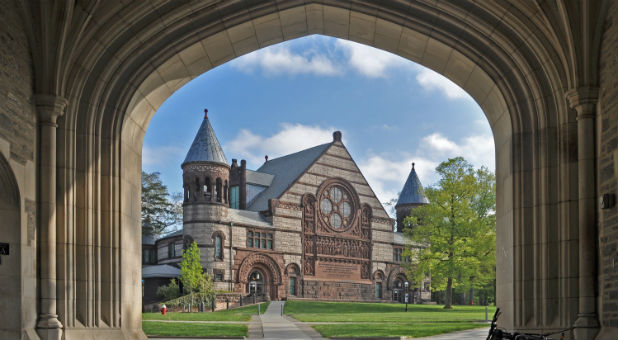 "If the progressive academic radicals at Princeton University have their way, the New Jersey school will soon be ""man-free."""