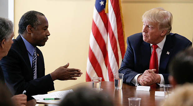 Dr. Ben Carson and President-Elect Donald Trump