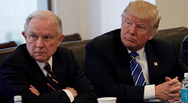 President-Elect Trump and Attorney General-Select Sessions