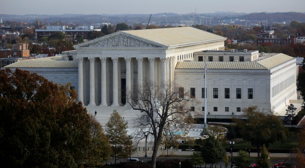 A general view of the U.S. Supreme Court building in Washington.