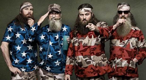 Some of the men of Duck Dynasty.