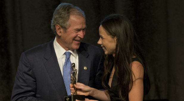 George W. Bush's daughter Barbara is the keynote speaker at a Planned Parenthood fundraiser.