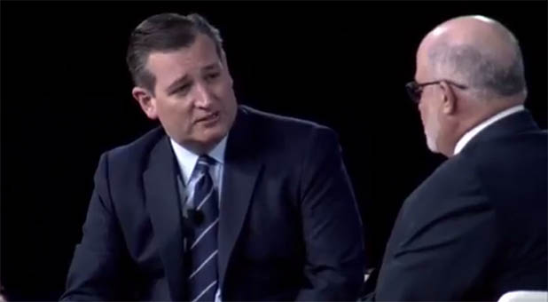U.S. Sen. Ted Cruz and Mark Levin