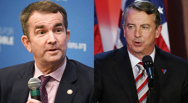 Virginia Lt. Gov. Ralph Northam and former RNC Chairman Ed Gillespie