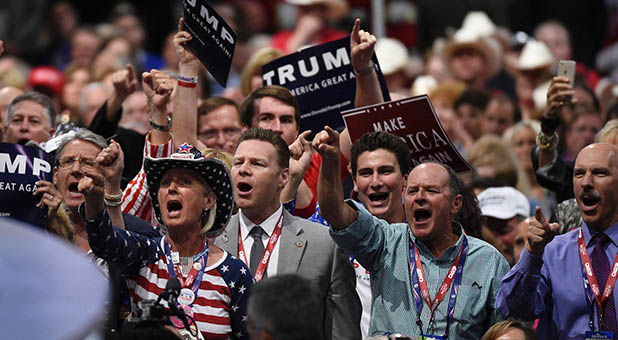 Angry RNC Delegates