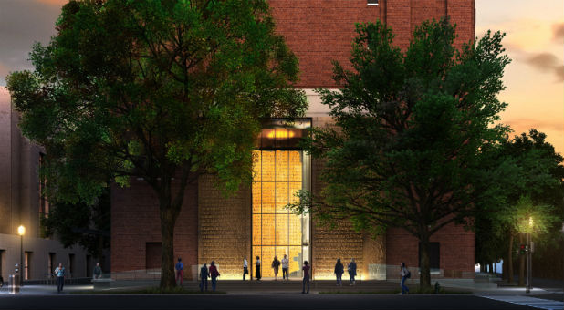 When Museum of the Bible opens its doors on Nov. 17, 2017, just three blocks from the U.S. Capitol building in Washington, D.C., guests will enter the 430,000 square-foot structure through two towering, 40-foot-tall gates, each weighing over 12 tons.