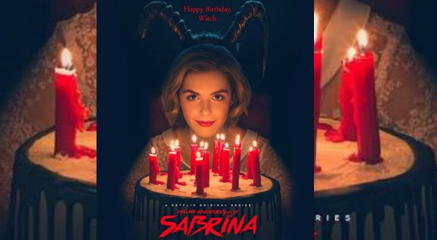 "The poster for ""Chilling Adventures of Sabrina"""