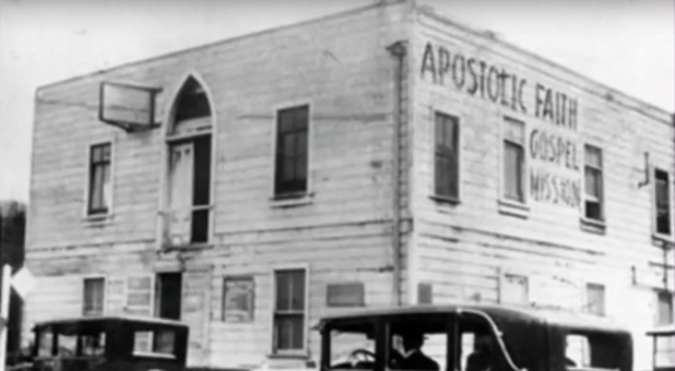 The site of the Azusa Street Revival