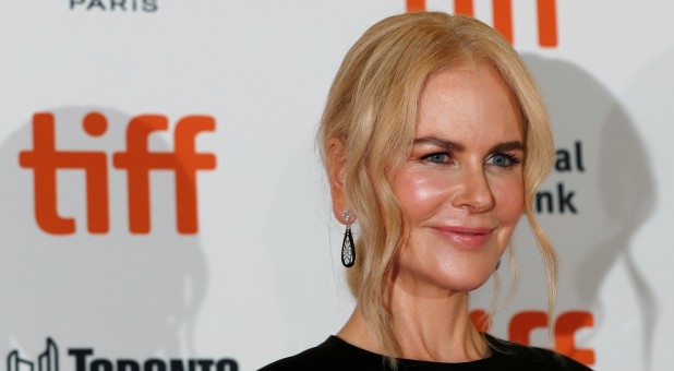 "Actor Nicole Kidman arrives for the premiere of the movie ""Boy Erased"" at the Toronto International Film Festival (TIFF) in Toronto, Ontario, Canada, Sept. 11, 2018."