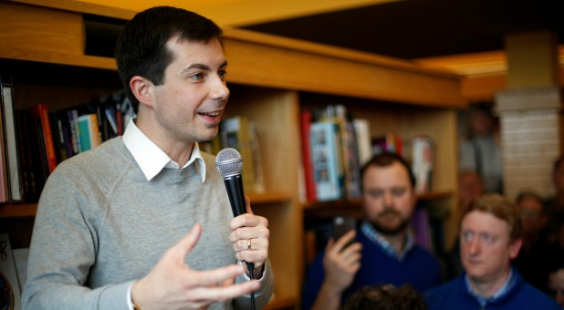 Democratic 2020 U.S. presidential candidate and South Bend Mayor Pete Buttigieg